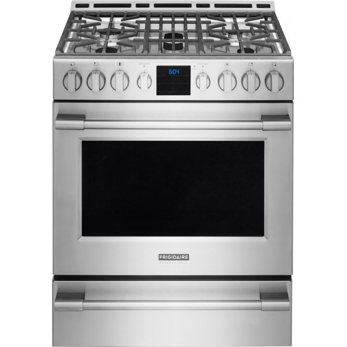 Frigidaire Professional Collection - Ranges Professional 30'' Gas Range - Item Number: FPGH3077RF