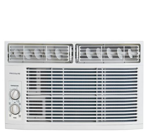 Frigidaire Room Air Conditioners 6,000 BTU Window-Mounted Room Air Conditione - Item Number: FFRA0611R1