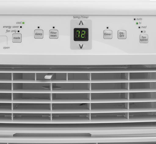 Frigidaire Room Air Conditioners 8,000 BTU  Window-Mounted Slider / Casement  - Item Number: FFRS0833Q1