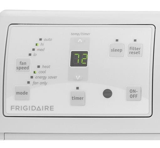 Frigidaire Room Air Conditioners 8,000 BTU Built-In Room Air Conditioner with - Item Number: FFTH0822R1