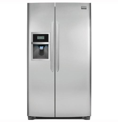 Frigidaire Side-By-Side Refrigerators 26 Cu. Ft. Side-by-Side Refrigerator - Item Number: DGUS2645LF