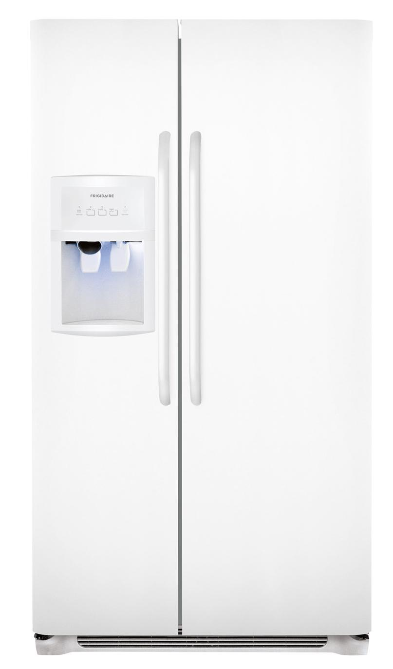 Frigidaire Side-By-Side Refrigerators 22.6 Cu. Ft. Side-by-Side Refrigerator - Item Number: FFHS2313LP