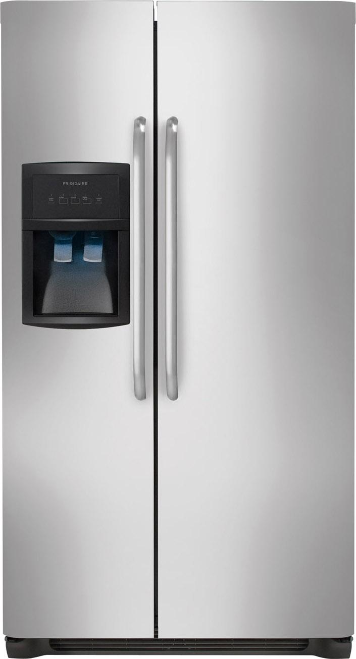 Frigidaire Side-By-Side Refrigerators 22.6 Cu. Ft. Side-by-Side Refrigerator - Item Number: FFHS2322MS