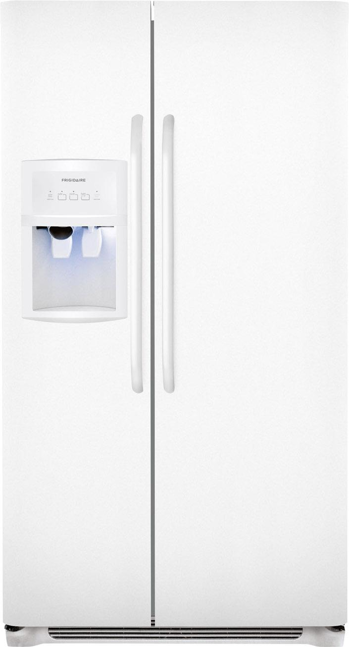 Frigidaire Side-By-Side Refrigerators 22.6 Cu. Ft. Side-by-Side Refrigerator - Item Number: FFHS2322MW
