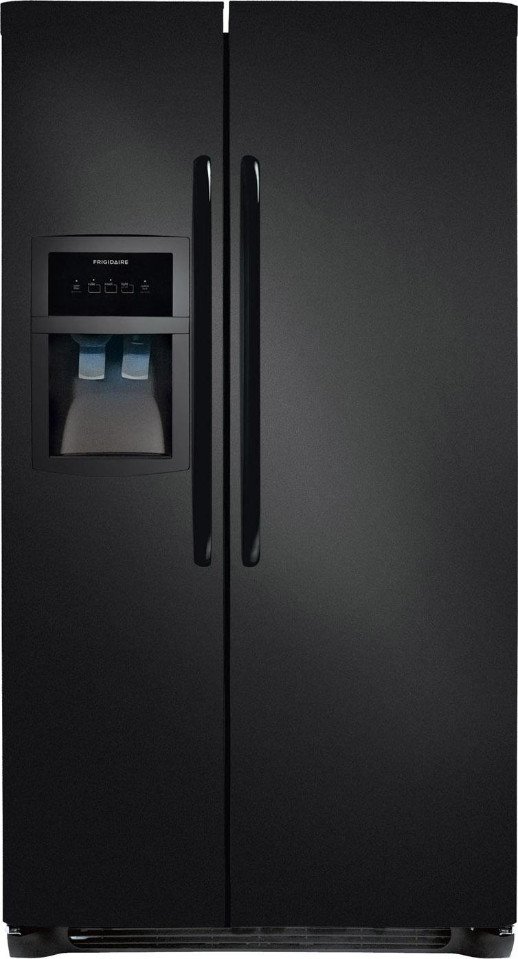 Frigidaire Side-By-Side Refrigerators 26 Cu. Ft. Side-by-Side Refrigerator - Item Number: FFHS2622MB