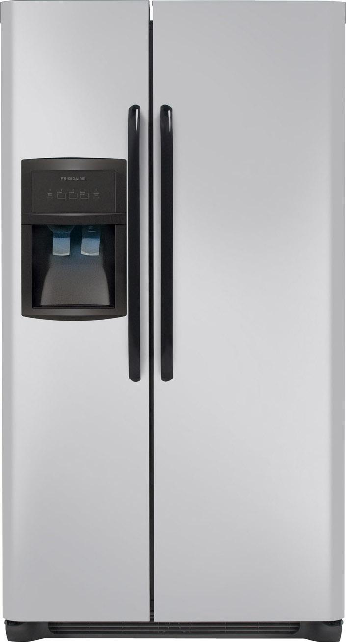 Frigidaire Side-By-Side Refrigerators 26 Cu. Ft. Side-by-Side Refrigerator - Item Number: FFHS2622MM