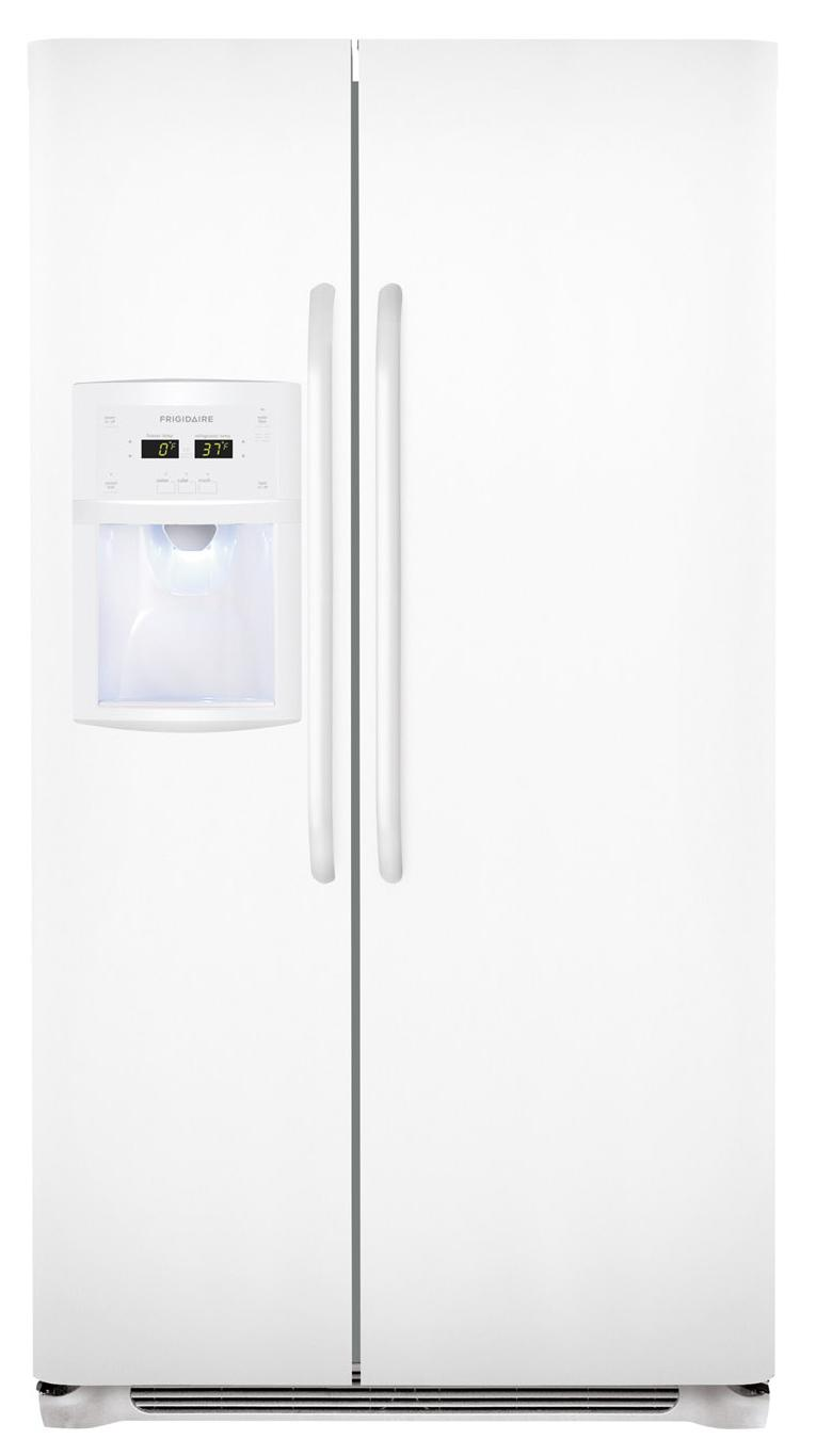 Frigidaire Side-By-Side Refrigerators 23 Cu. Ft. Side-by-Side Refrigerator - Item Number: FFSC2323LP