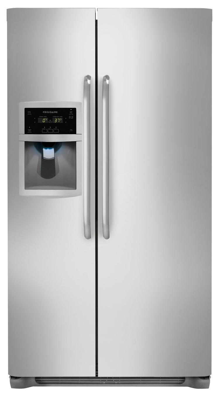 Frigidaire Side-By-Side Refrigerators 23 Cu. Ft. Side-by-Side Refrigerator - Item Number: FFSC2323LS