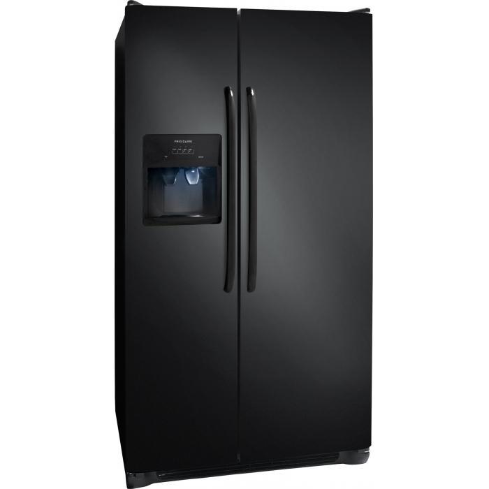 Frigidaire Side-By-Side Refrigerators 26 Cu. Ft. Side-by-Side Refrigerator - Item Number: FFSS2614QE