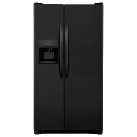 Frigidaire Side-By-Side Refrigerators 25.5 Cu. Ft. Side-by-Side Refrigerator - Item Number: FFSS2615TE