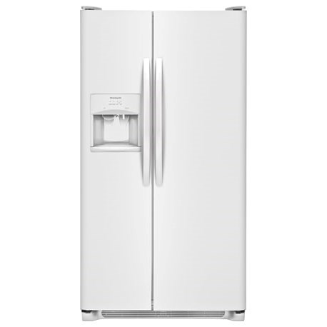 Frigidaire Side-By-Side Refrigerators 25.5 Cu. Ft. Side-by-Side Refrigerator - Item Number: FFSS2615TP