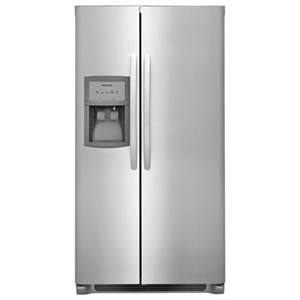 Frigidaire Side-By-Side Refrigerators 25.5 Cu. Ft. Side-by-Side Refrigerator
