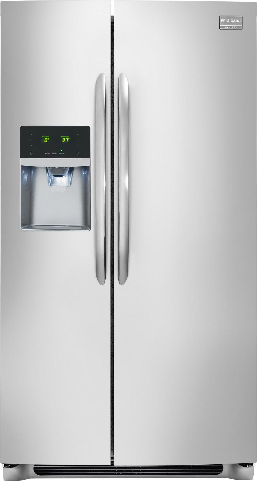 Frigidaire Frigidaire Gallery Refrigerators 23 Cu. Ft. Side-By-Side Refrigerator - Item Number: FGHS2355PF