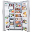 Frigidaire Frigidaire Gallery Refrigerators Gallery ENERGY STAR® 23 Cu. Ft. Side-By-Side Refrigerator with Water and Ice Dispenser - 22.6 Cu. Ft. Capacity