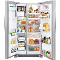 Frigidaire Frigidaire Gallery Refrigerators Gallery ENERGY STAR® 26 Cu. Ft. Side-by-Side Refrigerator with Adjustable Interior Storage - Large 26.0 Cu. Ft. Interior