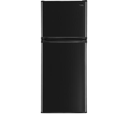 Frigidaire Top Freezer Refrigerators 9.9 Cu. Ft. Top Freezer Apartment-Size Refri - Item Number: FFET1022QB