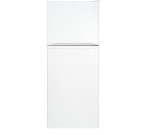 Frigidaire Top Freezer Refrigerators 9.9 Cu. Ft. Top Freezer Apartment-Size Refri - Item Number: FFET1022QW