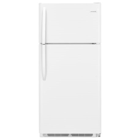 Frigidaire Top Freezer Refrigerators 18 Cu. Ft. Top Freezer Refrigerator - Item Number: FFHT1814TW