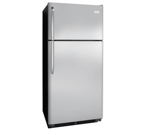 Frigidaire Top Freezer Refrigerators 18 Cu. Ft. Top Freezer Refrigerator - Item Number: FFHT1821QS
