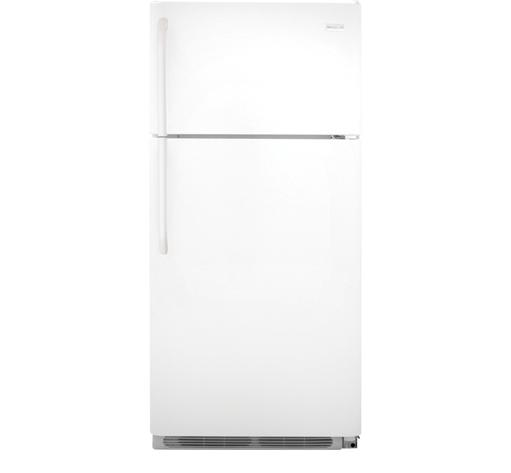 Frigidaire Top Freezer Refrigerators 18 Cu. Ft. Top Freezer Refrigerator - Item Number: FFHT1821QW