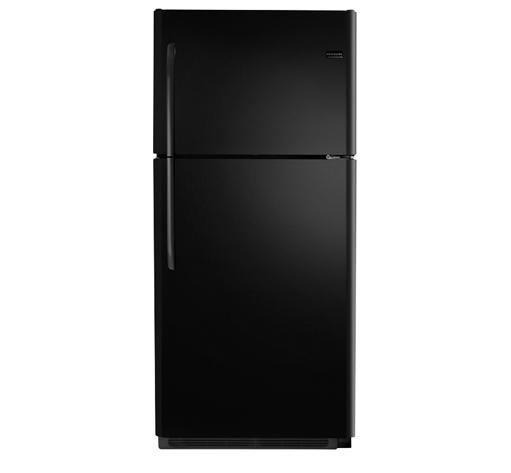 Frigidaire Top Freezer Refrigerators 20.4 Cu. Ft. Top Freezer Refrigerator - Item Number: FFHT2021QB