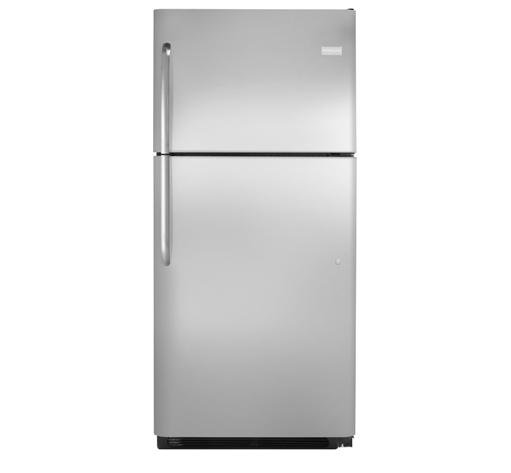 Frigidaire Top Freezer Refrigerators 20.4 Cu. Ft. Top Freezer Refrigerator - Item Number: FFHT2021QS