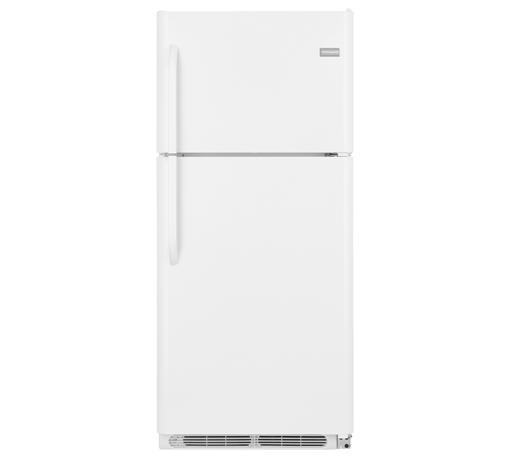 Frigidaire Top Freezer Refrigerators 20.4 Cu. Ft. Top Freezer Refrigerator - Item Number: FFHT2021QW