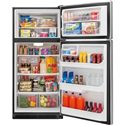 Frigidaire Top Freezer Refrigerators 20.5 Cu. Ft. ENERGY STAR® Top Freezer Refrigerator with Store-More™ Capacity