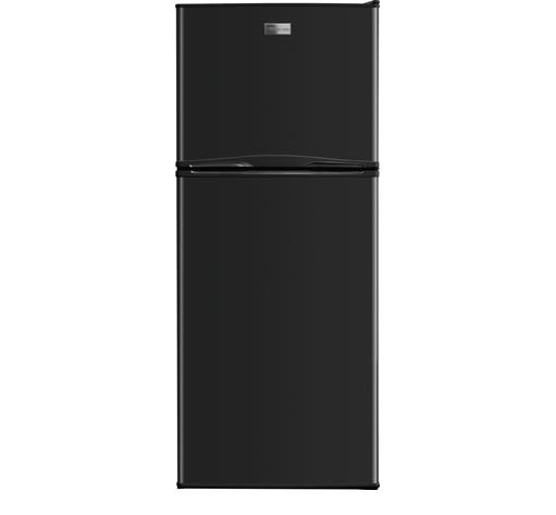Frigidaire Top Freezer Refrigerators 9.9 Cu. Ft. Top Freezer Apartment-Size Refri - Item Number: FFTR1022QB