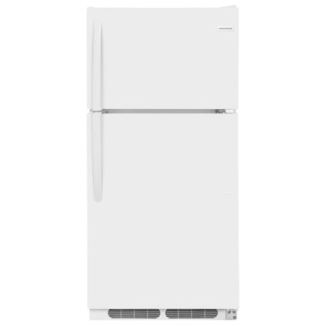 Frigidaire Top Freezer Refrigerators 15 Cu. Ft. Top Freezer Refrigerator - Item Number: FFTR1514TW