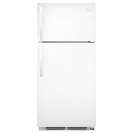 Frigidaire Top Freezer Refrigerators 16.3 Cu. Ft. Top Freezer Refrigerator - Item Number: FFTR1621RW