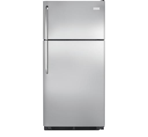 Frigidaire Top Freezer Refrigerators 18 Cu. Ft. Top Freezer Refrigerator - Item Number: FFTR1814QS