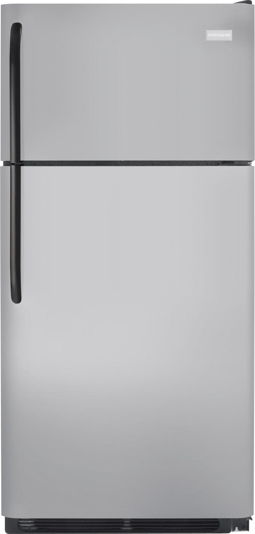 Frigidaire Top Freezer Refrigerators 18 Cu. Ft. Top Freezer Refrigerator - Item Number: FFTR1821QM