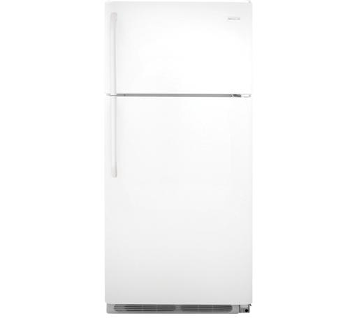 Frigidaire Top Freezer Refrigerators 18 Cu. Ft. Top Freezer Refrigerator - Item Number: FFTR1821QW