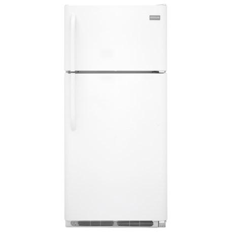 Frigidaire Top Freezer Refrigerators 18 Cu. Ft. Top Freezer Refrigerator - Item Number: FFTR1828SP