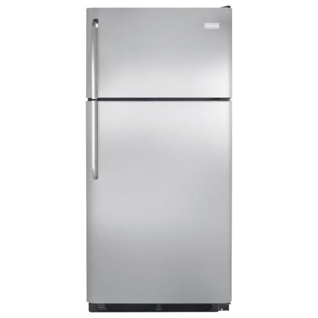 Frigidaire Top Freezer Refrigerators 18 Cu. Ft. Top Freezer Refrigerator - Item Number: FFTR1828SS