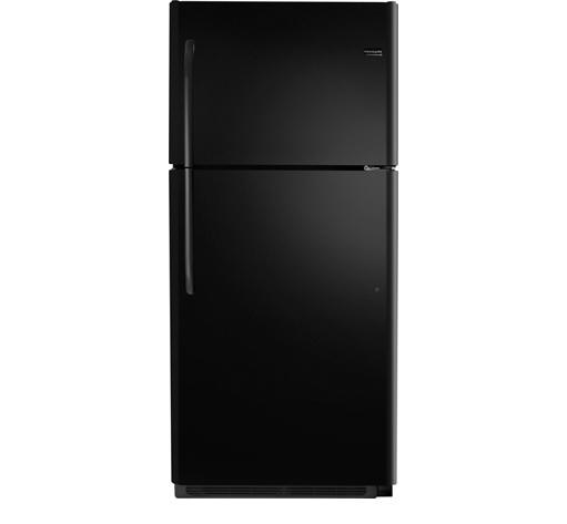 Frigidaire Top Freezer Refrigerators 20.4 Cu. Ft. Top Freezer Refrigerator - Item Number: FFTR2021QB
