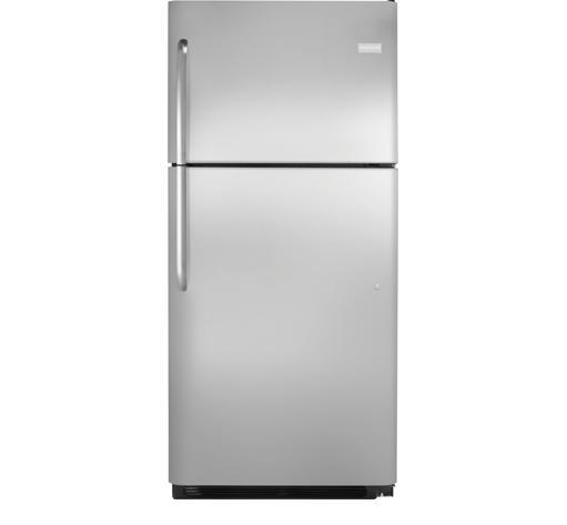 Frigidaire Top Freezer Refrigerators 20.4 Cu. Ft. Top Freezer Refrigerator - Item Number: FFTR2021QS