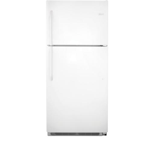 Frigidaire Top Freezer Refrigerators 20.5 Cu. Ft. Top Freezer Refrigerator - Item Number: FFTR2131QP