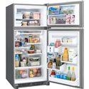 Frigidaire Frigidaire Gallery Refrigerators Gallery 20.5 Cu. Ft. ENERGY STAR® Top Freezer Refrigerator with Spillsafe® Shelves, Custom-Flex™ Door and Store-More™ Flip Up Shelf