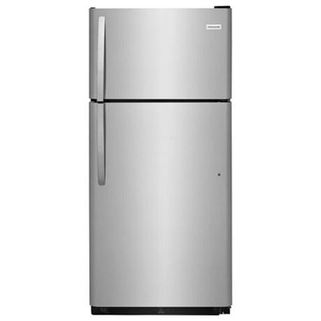 Frigidaire Top Freezer Refrigerators 18 Cu. Ft. Top Freezer Refrigerator - Item Number: FTMD18P4TS