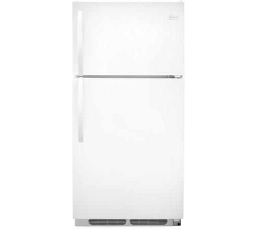 Frigidaire Top-Freezer Refrigerator 14.6 Cu. Ft. Top Freezer Refrigerator - Item Number: FFHT1514QW