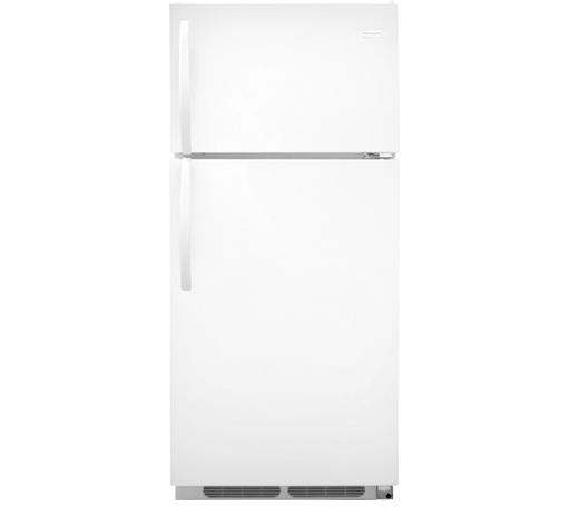 Frigidaire Top-Freezer Refrigerator 16.3 Cu. Ft. Top Freezer Refrigerator - Item Number: FFHT1621QW