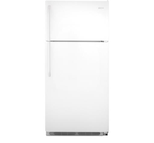 Frigidaire Top-Freezer Refrigerator 18 Cu. Ft. Top Freezer Refrigerator - Item Number: FFHT1831QP