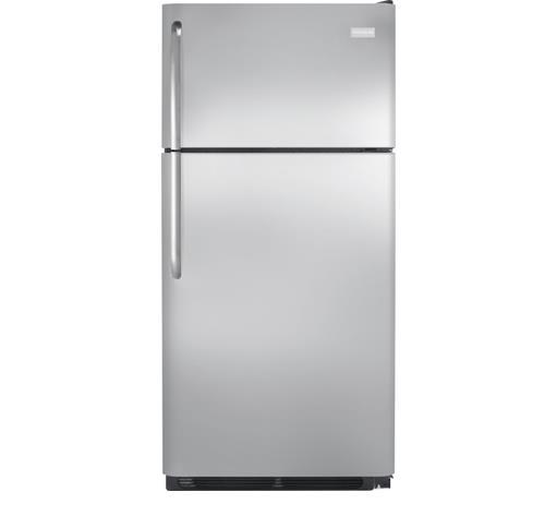 Frigidaire Top-Freezer Refrigerator 18 Cu. Ft. Top Freezer Refrigerator - Item Number: FFHT1831QS