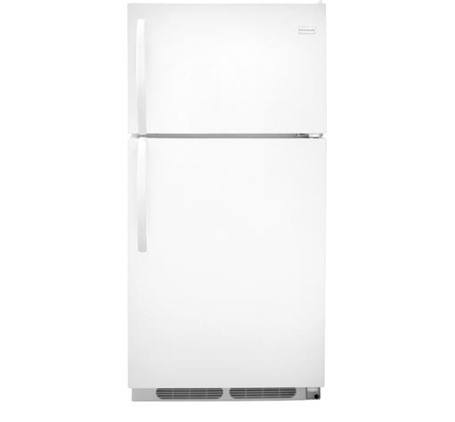 Frigidaire Top-Freezer Refrigerator 14.6 cu. ft. Top Freezer Refrigerator - Item Number: FFTR1514QW