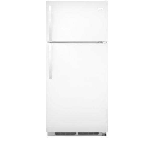 Frigidaire Top-Freezer Refrigerator 16.3 Cu. Ft. Top Freezer Refrigerator - Item Number: FFTR1614QW