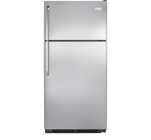 Frigidaire Top-Freezer Refrigerator 18 Cu. Ft. Top Freezer Refrigerator - Item Number: FFTR1831QS
