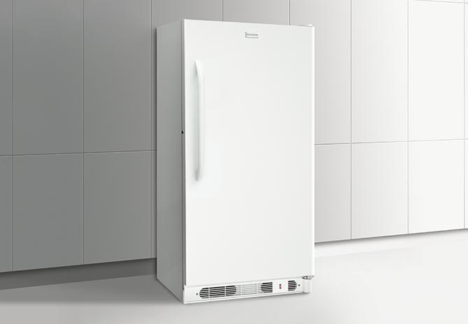 Frigidaire Upright Freezers 14.4 Cu. Ft. Upright Freezer - Item Number: FFFU14M1QW
