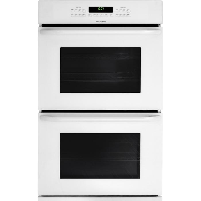 """Frigidaire Electric Wall Ovens 27"""" Built-In Double Electric Wall Oven - Item Number: FFET2725PW"""